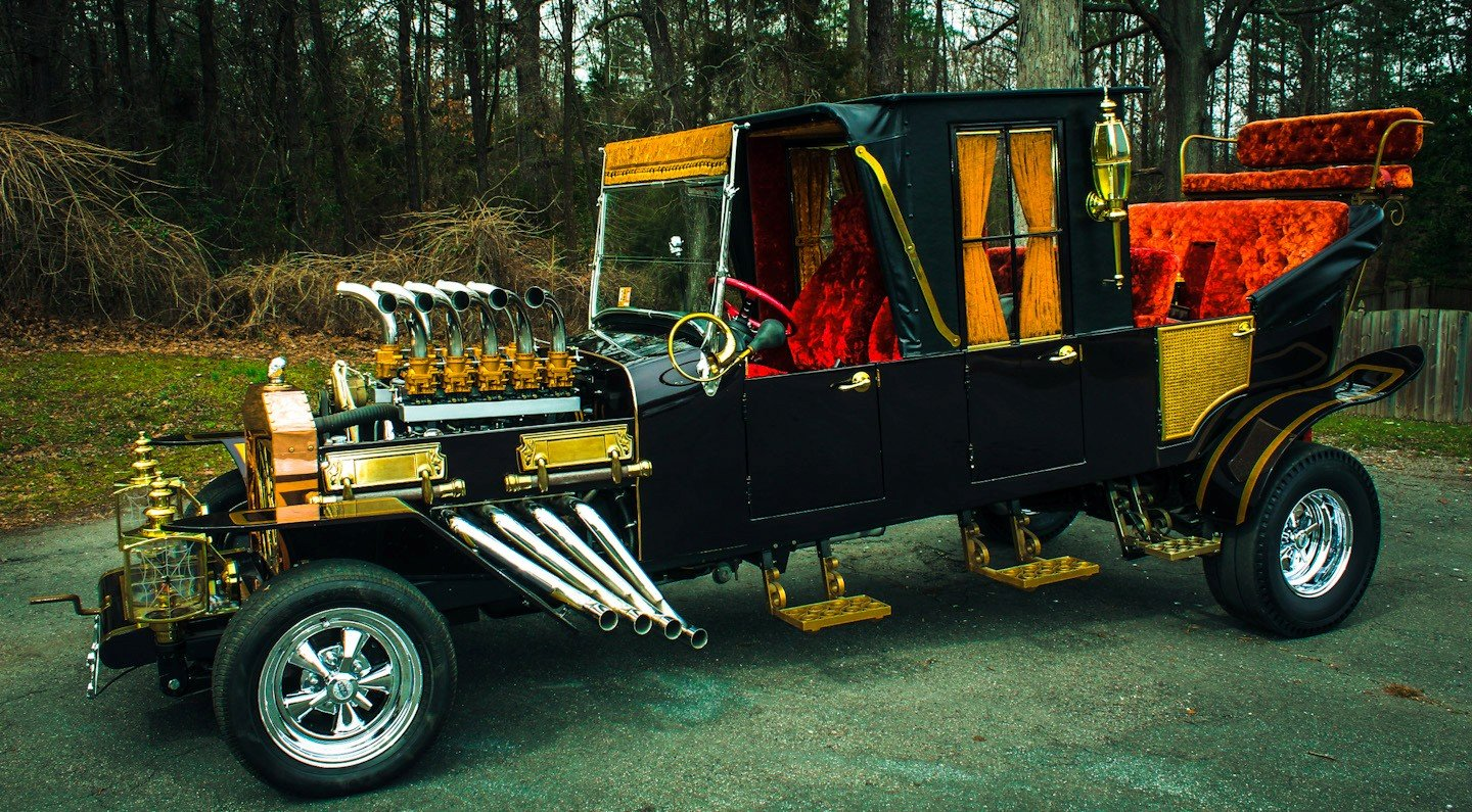 Satanic Rides: Bad Ass Muscle Cars, Hot Rods, Customs And
